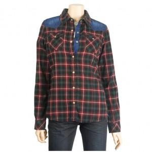EL3NB052 Check Shirts / Shirt - WOMEN