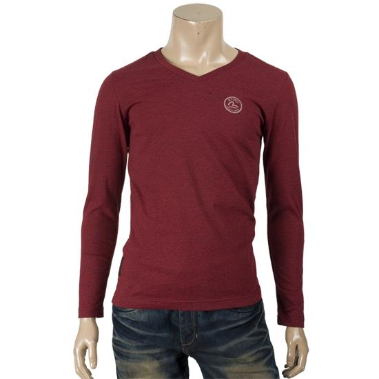 EL3VT004_V-neck T-shirt_MEN